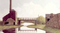 Evening on Coventry Canal at Sutton Stop - Painted in Oils