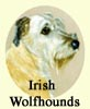 Click for More Images of Irish Wolfhounds dog paintings